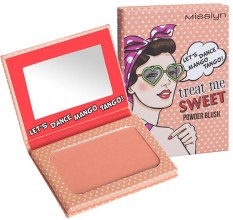 Парфюми, Парфюмерия, козметика Руж - Misslyn Treat Me Sweet! Powder Blush