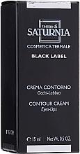 Парфюмерия и Козметика Крем за околоочия контур и устни - Terme Di Saturnia Black Label Contour Cream Eyes And Lips