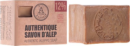 Сапун Алепо - Alepeo Authentic Aleppo Soap 12% — снимка N1