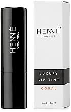Парфюмерия и Козметика Тинт за устни - Henne Organics Luxury Lip Tint