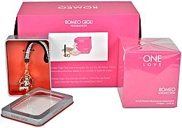 Парфюми, Парфюмерия, козметика Romeo Gigli One Love - Комплект (парф. вода/100ml + гривна)