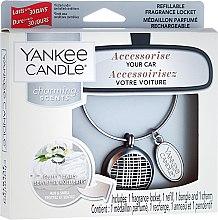Парфюми, Парфюмерия, козметика Ароматизатор за кола - Yankee Candle Fluffy Towels Linear