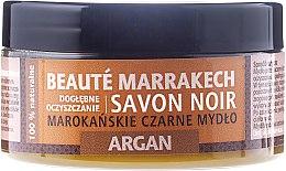 "Парфюми, Парфюмерия, козметика Натурален черен сапун ""Аргания"" - Beaute Marrakech Savon Noir Moroccan Black Soap Argan"