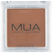 Парфюмерия и Козметика Бронзант за лице - MUA Bronzer Sunkissed Bronze