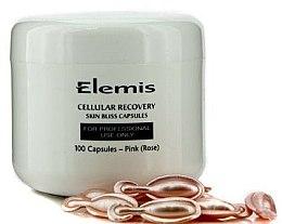 Парфюмерия и Козметика Капсули за лице за клетъчно възстановяване с роза - Elemis Cellular Recovery Skin Bliss Rose
