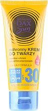 Парфюми, Парфюмерия, козметика Слънцезащитен крем за лице с арганово масло - DAX Sun Protective Face Cream SPF 30