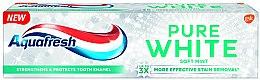 Парфюмерия и Козметика Избелваща паста за зъби - Aquafresh Pure White Soft Mint