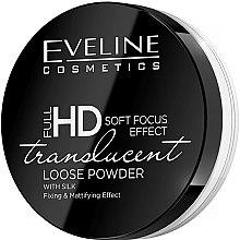 Парфюми, Парфюмерия, козметика Насипна матираща пудра за лице - Eveline Cosmetics Full HD Soft Focus Translucent Loose Powder