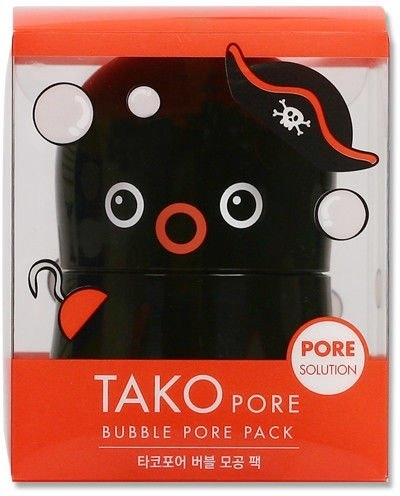 Пузырьковая маска Tony Moly Tako Pore Bubble Pore Pack | 💞