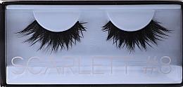 Парфюмерия и Козметика Изкуствени мигли, Scarlett 8 - Huda Beauty