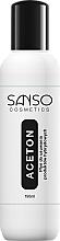 Парфюмерия и Козметика Почистваща течност за хибриден лак за нокти - Sanso Cosmetics Aceton