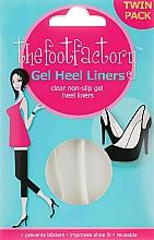 Парфюмерия и Козметика Гел стелки - The Foot Factory Gel Heel Liner Twin Pack