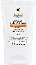 Парфюми, Парфюмерия, козметика Слънцезащитен флуид за лице SPF 50 - Kiehl`s Dermatologist Solutions Ultra Light Daily UV Defense SPF 50