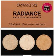 Парфюми, Парфюмерия, козметика Палитра изсветляващи хайлайтери за лице - Makeup Revolution Highlighter Palette