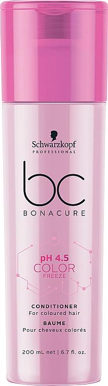 Балсам за боядисана коса - Schwarzkopf Professional Bonacure Color Freeze pH 4.5 Conditioner