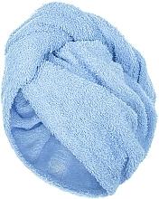 Парфюмерия и Козметика Кърпа-тюрбан за коса, синя - MakeUp