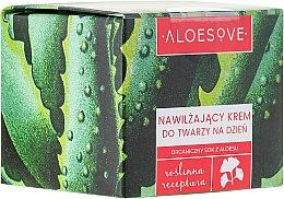Парфюми, Парфюмерия, козметика Хидратиращ дневен крем за лице - Aloesove