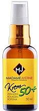 Парфюми, Парфюмерия, козметика Хидратиращ крем за хиалуронова киселина - Madame Justine Moisturizing Cream With Hyaluronic Acid 50+