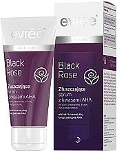 Парфюмерия и Козметика Серум-пилинг за лице - Evree Black Rose