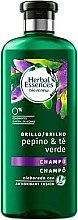 Парфюмерия и Козметика Възстановяващ шампоан с краставица и зелен чай - Herbal Essences Cucumber & Green Tea Shampoo
