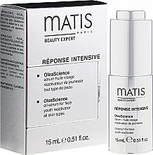 Парфюмерия и Козметика Серум-масло за лице - Matis Reponse Intensive OleaScience