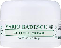Парфюмерия и Козметика Крем за кутикули - Mario Badescu Cuticle Cream