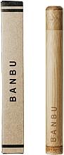 Парфюмерия и Козметика Бамбукова кутия за четка за зъби - Banbu Toothbrush Case