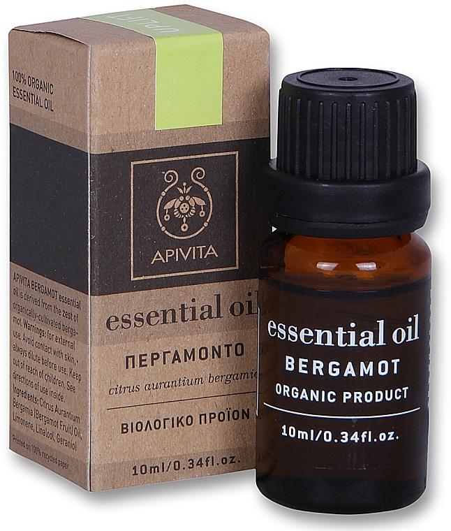 "Етерично масло ""Бергамот"" - Apivita Aromatherapy Organic Bergamot Oil  — снимка N4"