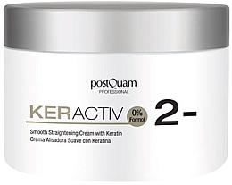 Парфюмерия и Козметика Кератинов крем за изправяне на косата - PostQuam Keractiv Smooth Straightening Cream With Keratin