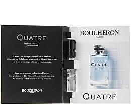 Boucheron Quatre Boucheron Pour Homme - Тоалетна вода (мостра) — снимка N2
