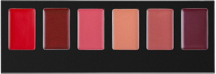 Палитра червила за устни, 6 цвята - Artdeco Most Wanted Lip Palette (тестер) — снимка N1