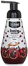 """Парфюмерия и Козметика Измиваща пяна за ръце """"Нар"""" - Aksan Deep Fresh Foaming Hand Wash Pomegranate"""