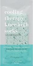 Парфюмерия и Козметика Охлаждащи чорапи за уморени стъпала - Voesh Cooling Therapy Knee High Socks