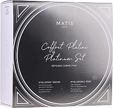 Парфюмерия и Козметика Комплект за лице - Matis Reponse Corrective Platinum Set (серум/30ml + крем/50ml)