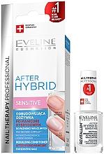 Парфюмерия и Козметика Възстановяващ балсам за нокти - Eveline Cosmetics After Hybrid Rebuilding Conditioner