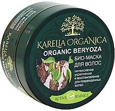 """Парфюмерия и Козметика Био-маска за интензивно укрепване и възстановяване на косата """"Organic Beryoza"""" - Фратти НВ Karelia Organica"""