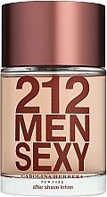 Парфюмерия и Козметика Carolina Herrera 212 Sexy Men - Лосион след бръснене