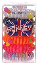 Парфюмерия и Козметика Ластици за коса - Ronney Professional Funny Ring Bubble 7