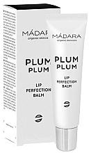 Парфюмерия и Козметика Балсами за устни - Madara Cosmetics Plum Plum Lip Balm