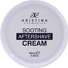 Парфюмерия и Козметика Успокояващ крем за след бръснене - Hristina Cosmetics Soothing After Shave Cream