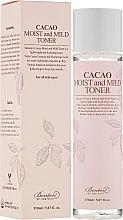 Парфюмерия и Козметика Тонер за лице с какаово масло - Benton Cacao Moist and Mild Toner