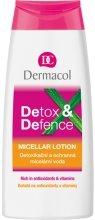 Парфюми, Парфюмерия, козметика Детоксикираща и защитна мицеларна вода - Dermacol Detox&Defence Micellar Lotion