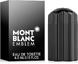 Парфюмерия и Козметика Montblanc Emblem - Тоалетна вода (мини)