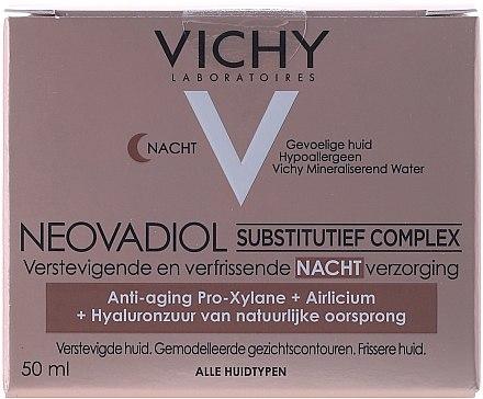 Нощна крем против стареене с компенсиращ комплекс за всеки тип кожа - Vichy Neovadiol Nuit Compensating Complex — снимка N1