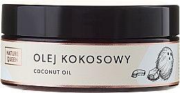 Парфюмерия и Козметика Кокосово масло за тяло - Nature Queen Cooconut Oil