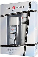 Парфюми, Парфюмерия, козметика Coty Pret-a-Porter - Комплект (дезодорант/200ml + спрей за тяло/75ml)