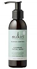 Парфюмерия и Козметика Измиващ гел за лице - Sukin Blemish Control Clearing Facial Wash