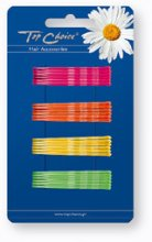 Парфюми, Парфюмерия, козметика Фиби за коса , разноцветни , 24 бр. - Top Choice