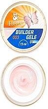 Парфюмерия и Козметика Моделиращ гел-желе за нокти - F.O.X Gele Builder Gel UV Pink 003