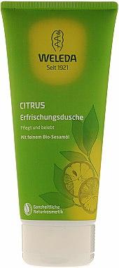"Комплект ""Цитрус"" - Weleda Citrus Hydrating Set (h/cr/50ml + sh/gel/200ml) — снимка N3"